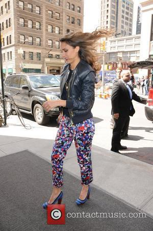 Jessica Alba  arrives back to her SoHo hotel in Manhattan.  New York City, USA - 10.05.12