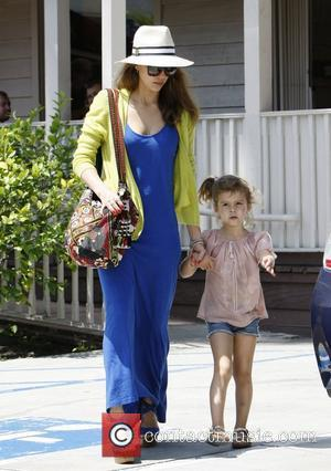 Jessica Alba and her daughter Honor Marie Go out for lunch together Beverly Hills, California - 20.05.12