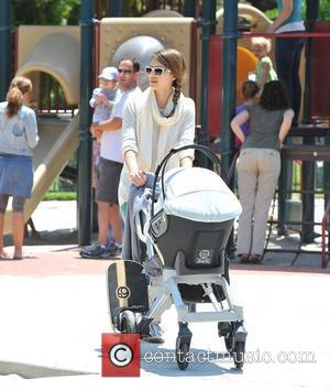 Jessica Alba  takes her daughters to a park in Beverly Hills Los Angeles, California - 12.05.12