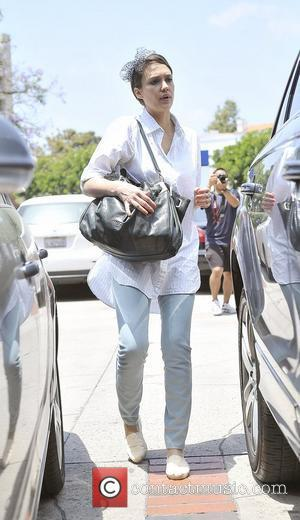 Jessica Alba celebrates her daughter Honor Marie Warren's birthday in Brentwood Los Angeles, California - 09.06.12