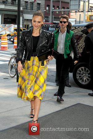 Jessica Alba and Brad Goreski