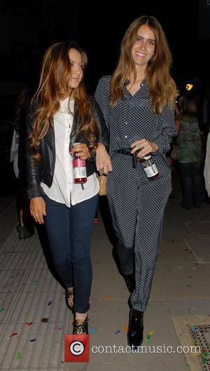 Jade Williams Celebrities leaving Jessie J's special concert sponsored by vitaminwater, held at Camden Roundhouse London, England - 04.08.12