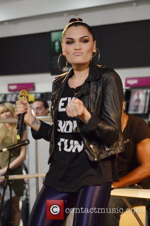 Jessie J  performs at HMV, Oxford Street London, England- 14.05.12