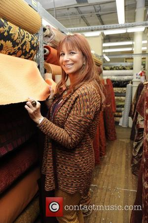 Former 'Real Housewives of New York City' star Jill Zarin seen inside of Zarin's Fabrics New York City, USA -...
