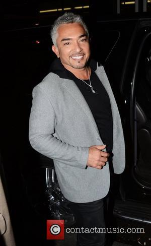 Cesar Millan Celebrities outside the NBC studios for an appearance on 'Late Night with Jimmy Fallon' New York City, USA...