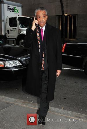 Al Sharpton Celebrities outside the NBC studios for an appearance on 'Late Night with Jimmy Fallon' New York City, USA...