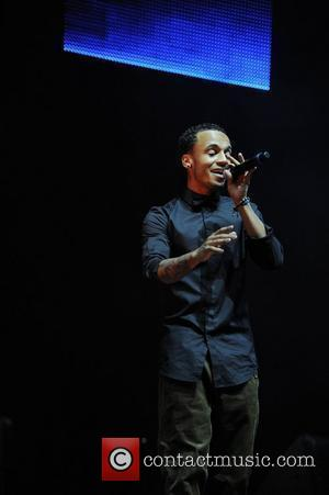Aston Merrygold of JLS,  performing at the Key 103 Jingle Ball at the M.E.N Arena. Manchester, England - 01.12.11