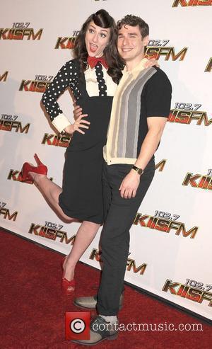 Karmin 102.7 KIIS FM's Jingle Ball - Arrivals held at Nokia Theatre L.A. Live  Los Angeles, California - 03.12.11