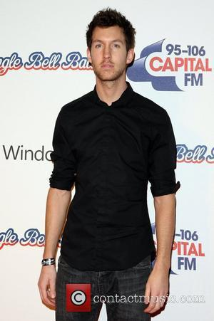 Calvin Harris The Jingle Bell Ball 2011 day one - Arrivals London, England - 03.12.11