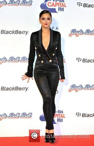 Cheryl Cole Capital FM Jingle Bell Ball held at the O2 Arena - red carpet arrivals. London, England - 08.12.12