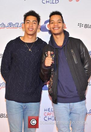 Rizzle Kicks Capital FM Jingle Bell Ball held at the O2 Arena - red carpet arrivals. London, England - 08.12.12