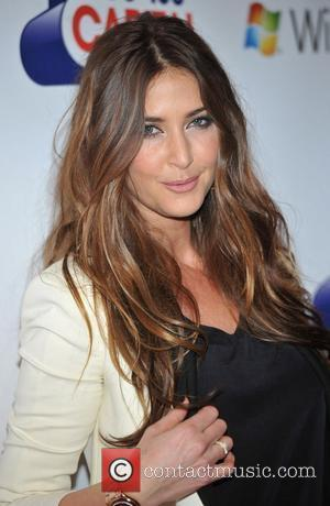 Lisa Snowdon Jingle Bell Ball held at the O2 Arena - Day 2. London, England - 04.12.11
