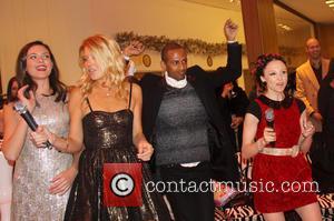 Stacey Bendet; Odette Annable Jingle Bell Rockaway benefit karaoke party at Saks Fifth Avenue  Featuring: Stacey Bendet, Odette AnnableWhere:...