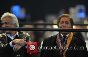 Valentino Garavani, Carlo Giamatti and O2 Arena