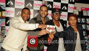 J, B, Jonathan Gill, Marvin Humes, Oritse Williams and Aston Merrygold