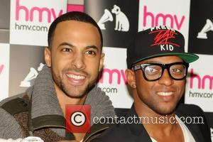 Marvin Humes and Oritse Williams