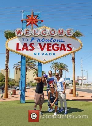Aston Merrygold, Jls and Las Vegas