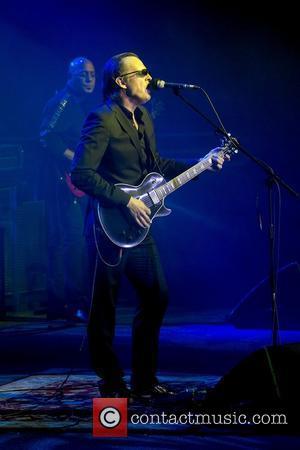 American singer and guitarist Joe Bonamassa performing at Svenska Massan Gothenburg, Sweden - 20.03.12