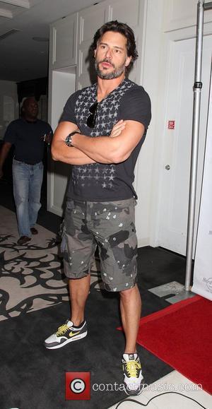 Joe Manganiello arrives for Rehab Sundays at the Hard Rock Hotel and Casino. Las Vegas, Nevada - 10.06.12
