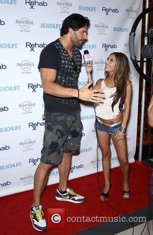Joe Manganiello arrives for Rehab Sundays at the Hard Rock Hotel and Casino. Las Vegas, Nevada - 10.06.12