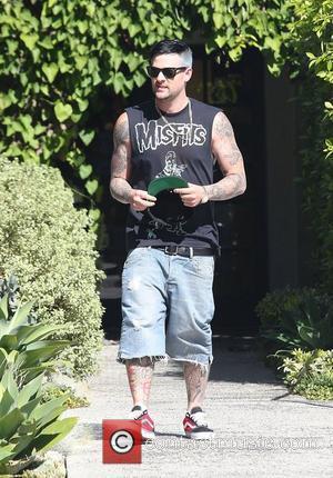 Joel Madden leaving a salon in Beverly Hills Beverly Hills, California - 27.08.12