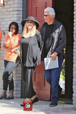 Barbra Streisand and James Brolin,  at Joel Silver's Memorial Day party in Malibu Los Angeles, California - 28.05.12