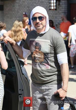 Robert Downey Jr and James Brolin