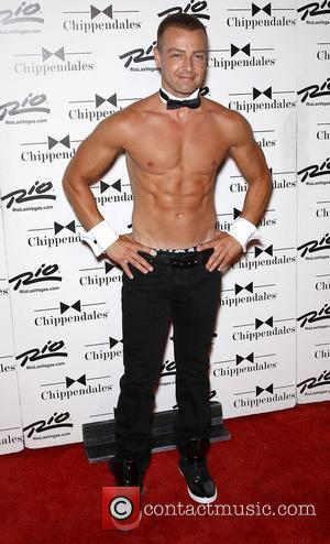 Joey Lawrence The Chippendales welcome new guest star Joey Lawrence at the Rio All-Suite Hotel and Casino Las Vegas, Nevada...
