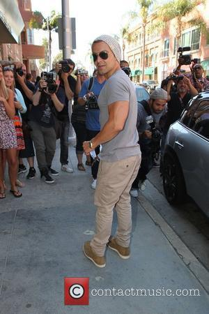 Joey Lawrence leaving a medical building in Beverly Hills Los Angeles, California - 14.05.12