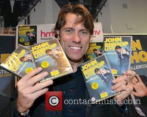 John Bishop signs copies of his dvd entitled 'John Bishop Live: Rollercoaster Tour 2012' at HMV Dublin, Ireland - 11.11.12