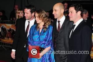 James Purefoy, Mark Strong and Samantha Morton