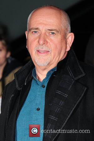 Peter Gabriel John Carter film premiere held at the BFI Southbank - Arrivals. London, England - 01.03.12