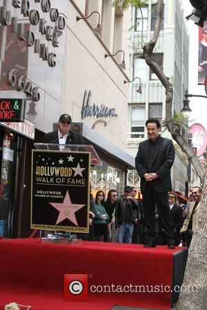 Dan Aykroyd, John Cusack and Star On The Hollywood Walk Of Fame
