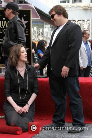 Jack Black, Joan Cusack and Star On The Hollywood Walk Of Fame