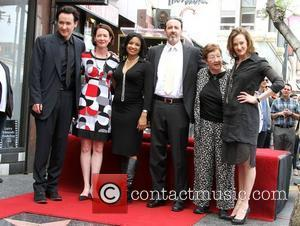John Cusack, Joan Cusack and Star On The Hollywood Walk Of Fame