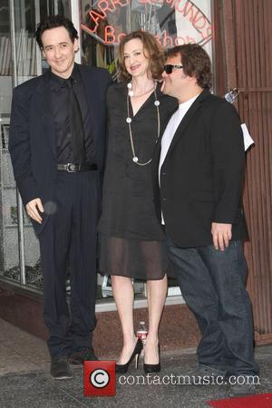 John Cusack, Jack Black, Joan Cusack and Star On The Hollywood Walk Of Fame