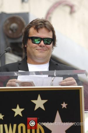Jack Black and Star On The Hollywood Walk Of Fame