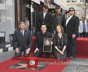 Billy Bob Thornton, Jack Black, Joan Cusack and Star On The Hollywood Walk Of Fame