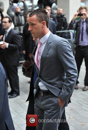 John Terry arrives at the City of Westminster Magistrates Court to answer charges of racial abuse. London, England - 09.07.12