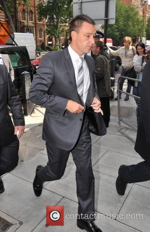 John Terry arrives at the City of Westminster Magistrates Court to answer charges of racial abuse. London, England - 12.07.12