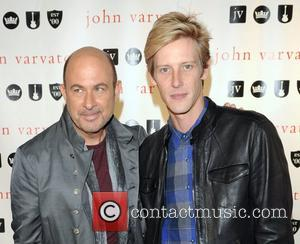 John Varvatos and Gabriel Mann