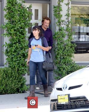 Johnny Hallyday visits Sunset Plaza Los Angeles, California - 10.09.12