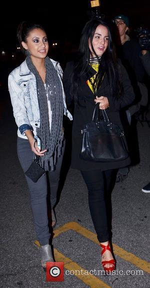 Joanna Levesque aka JoJo  leaving Supperclub in Hollywood with a friend Los Angeles, California, USA - 23.04.12