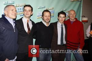 Craig Zadan, Michael Urie, Nick Jonas and Rob Ashford