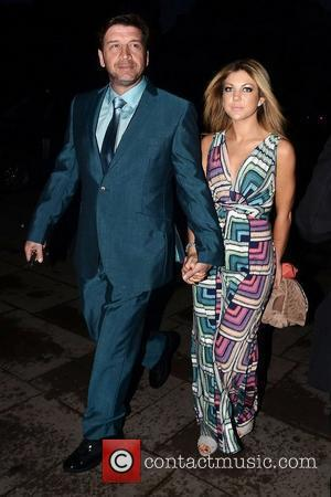 Nick Knowles and Jessica Rose Moor ,  at Jonathan Shalit's 50th birthday party at The V&A. - Arrivals London,...