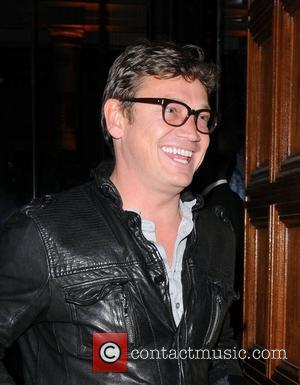 Sid Owen,  at Jonathan Shalit's 50th birthday party at The V&A. - Arrivals London, England - 17.04.12