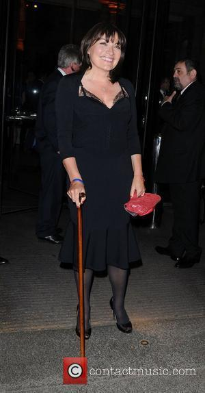 Lorraine Kelly,  at Jonathan Shalit's 50th birthday party at The V&A. - Arrivals London, England - 17.04.12