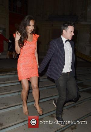 Myleene Klass and Graham Quinn  Jonathan Shalit's 50th birthday party at The V&A. - Arrivals London, England - 17.04.12