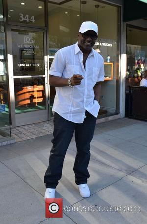R&B artist Johnny Gill outside Jack and Jills on Beverly Boulevard Beverly Hills, California - 09.01.12