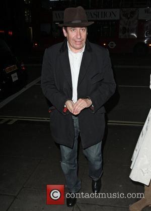Jools Holland  dining at the Wolsley restaurant London, England - 22.10.12